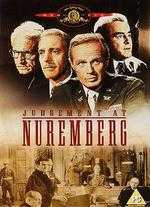 Judgment at Nuremburg - Stanley Kramer
