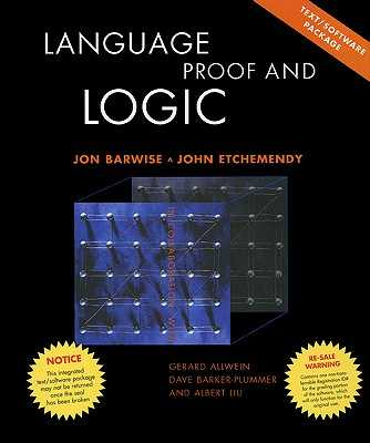Language, Proof and Logic: Text and CD - Barwise, Jon