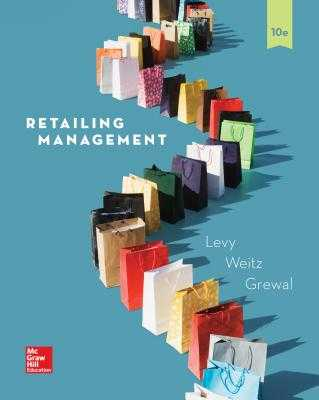Loose Leaf for Retailing Management - Grewal, Dhruv, Professor, and Weitz, Barton, and Levy, Michael