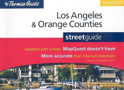 Los Angeles & Orange Counties Street Guide - Rand McNally (Creator)
