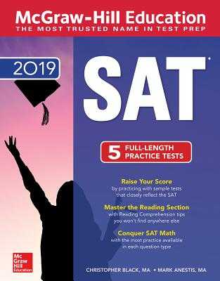 McGraw-Hill Education SAT 2019 - Black, Christopher, and Anestis, Mark