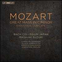 Mozart: Great Mass in C minor; Exultate, Jubilate - Carolyn Sampson (soprano); Makoto Sakurada (tenor); Olivia Vermeulen (mezzo-soprano); Bach Collegium Japan (choir, chorus);...
