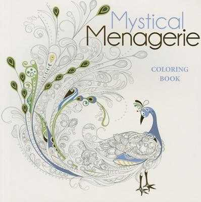 Mystical Menagerie Coloring Book - Lark Crafts