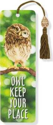 Owl Keep Your Place Beaded Bookmark - Peter Pauper Press (Producer)