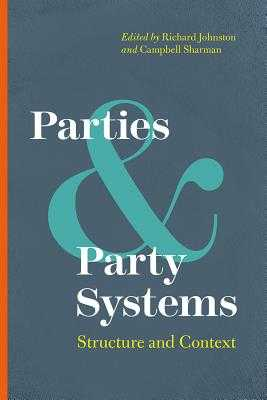 Parties and Party Systems: Structure and Context - Johnston, Richard (Editor), and Sharman, Campbell (Editor)