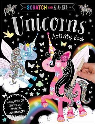 Scratch and Sparkle Unicorns Activity Book - Make Believe Ideas Ltd