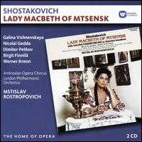 Shostakovich: Lady Macbeth of Mtsensk - Alexander Malta (vocals); Birgit Finnila (vocals); Colin Appleton (vocals); David Beavan (vocals); Dimiter Petkov (vocals);...