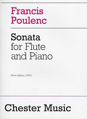 Sonata for Flute and Piano - Poulenc, Francis (Composer), and Schmidt, Carl B. (Editor), and Harper, Patricia (Editor)