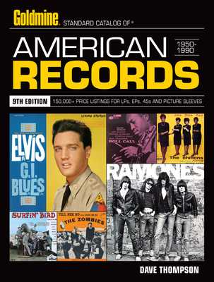 Standard Catalog of American Records 1950-1990 - Thompson, Dave