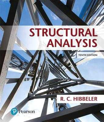Structural Analysis - Hibbeler, Russell