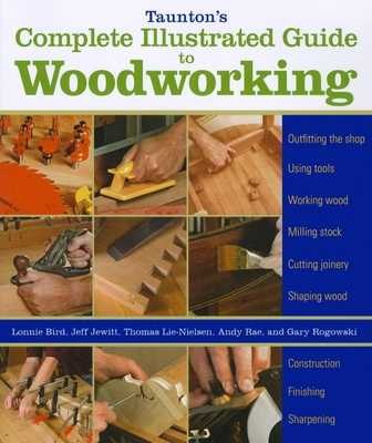 Taunton's Complete Illustrated Guide to Woodworking: Finishing/Sharpening/Using Woodworking Tools - Rogowski, Gary, and Jewitt, Jeff, and Rae, Andy
