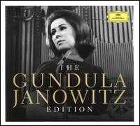The Gundula Janowitz Edition - Adolf Dallapozza (vocals); Anja Silja (soprano); Barbro Ericson (vocals); Brigitte Fassbaender (vocals);...