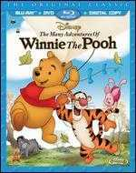 The Many Adventures of Winnie the Pooh [Blu-ray/DVD] [Includes Digital Copy]