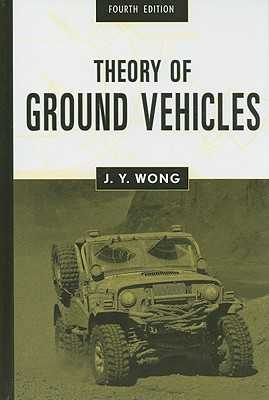 Theory of Ground Vehicles - Wong, J Y