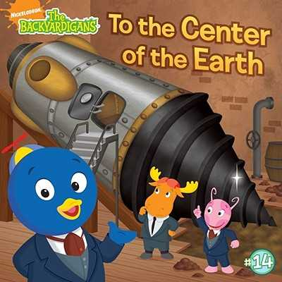 To the Center of the Earth! - Lukas, Catherine (Adapted by)