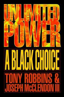 Unlimited Power a Black Choice - Robbins, Tony