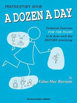 A Dozen a Day Preparatory Book - Burnam, Edna Mae