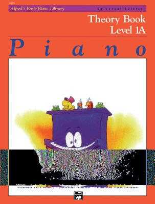 Alfred's Basic Piano Library Theory, Bk 1a - Palmer, Willard A, and Manus, Morton, and Lethco, Amanda Vick