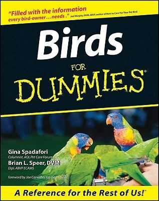 Birds for Dummies - Spadafori, Gina, and Speer, Brian L