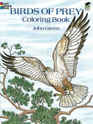 Birds of Prey Coloring Book - Green, John