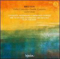 Britten: Violin Concerto; Double Concerto; Lachrymae - Anthony Marwood (violin); Lawrence Power (viola); BBC Scottish Symphony Orchestra; Ilan Volkov (conductor)