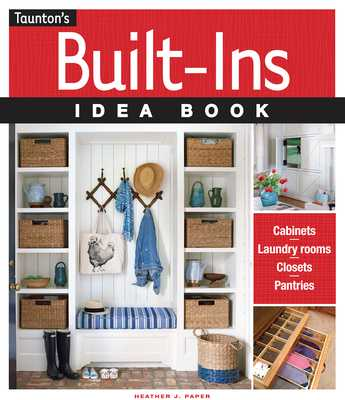 Built-Ins Idea Book - Paper, Heather J