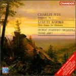 Charles Ives: Symphony No. 1; Samuel Barber: Three Essays for Orchestra