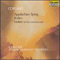 Copland: Appalachian Spring; Rodeo; Fanfare for the Common Man - Atlanta Symphony Orchestra; Louis Lane (conductor)