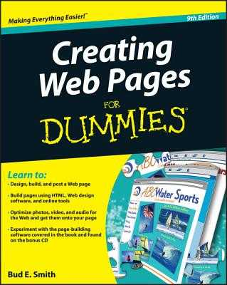 Creating Web Pages for Dummies - Smith, Bud E