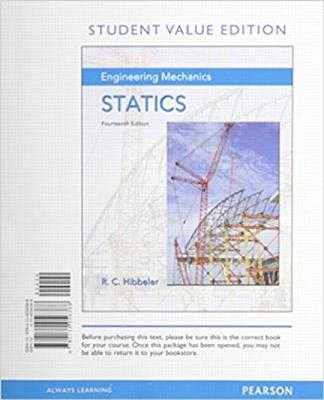 Engineering Mechanics: Statics, Student Value Edition - Hibbeler, Russell