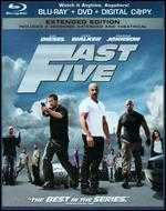 Fast Five [Rated/Unrated] [2 Discs] [Includes Digital Copy] [Blu-ray/DVD] - Justin Lin