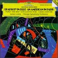 "Gershwin: Rhapsody in Blue; An American in Paris; ""Porgy and Bess"" Suite (Catfish Row); Cuban Overture - James Levine (piano); Chicago Symphony Orchestra; James Levine (conductor)"