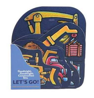 Goodnight, Goodnight, Construction Site: Let's Go!: (Construction Vehicle Board Books, Construction Site Books, Children's Books for Toddlers) - Rinker, Sherri Duskey