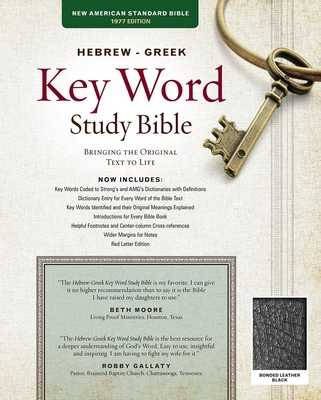Hebrew-Greek Key Word Study Bible-NASB: Key Insights Into God's Word - Zodhiates, Spiros, Dr. (Editor), and Baker, Warren, Dr. (Editor), and Kletzing, Joel (Editor)