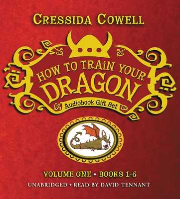 How to Train Your Dragon: Audiobook Gift Set #1 - Cowell, Cressida, and Tennant, David (Read by)