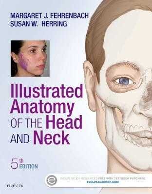 Illustrated Anatomy of the Head and Neck - Fehrenbach, Margaret J, MS, and Herring, Susan W