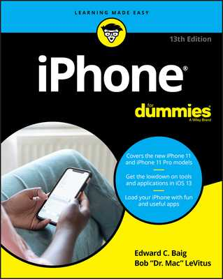 iPhone for Dummies - Baig, Edward C, and LeVitus, Bob