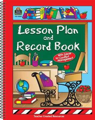 Lesson Plan and Record Book - Teacher Created Resources