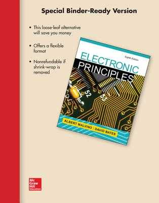 Loose Leaf for Electronic Principles - Malvino, Albert Paul, Dr., and Bates, David J