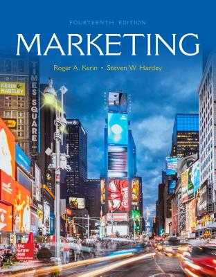 Loose Leaf for Marketing - Kerin, Roger A, and Hartley, Steven W
