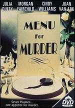 Menu for Murder - Larry Pearce