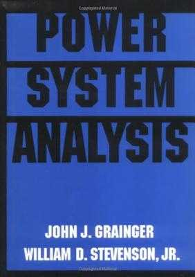 Power System Analysis - Grainger, John, and Stevenson, William