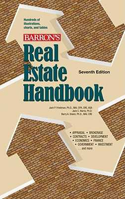 Real Estate Handbook - Friedman, Jack P, and Harris, Jack C, and Diskin, Barry A