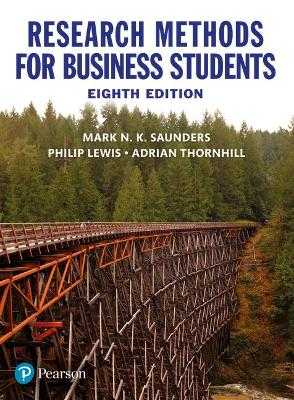 Research Methods for Business Students - Saunders, Mark, and Thornhill, Adrian, and Lewis, Philip