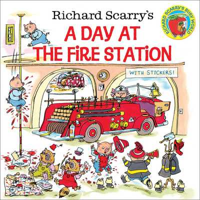 Richard Scarry's a Day at the Fire Station - Scarry, Richard