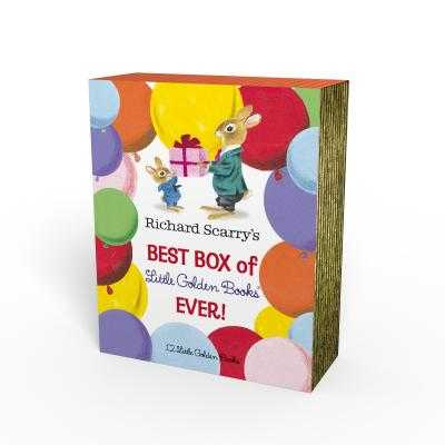 Richard Scarry's Best Box of Little Golden Books Ever!: 12 Little Golden Books - Scarry, Richard, and Scarry, Patsy, and Risom, Ole