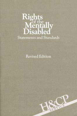 Rights of the Mentally Disabled: Statements and Standards - American Psychiatric Association