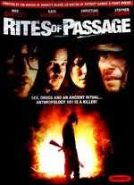 Rites of Passage - W. Peter Iliff