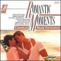 Romantic Moments, Vol. 8: Bach - Burkhard Glaetzner (oboe); Burkhard Glaetzner (oboe d'amore); Christian Altenburger (violin); Christine Schornsheim (organ);...
