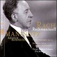 Rubinstein Collection, Vol. 35 - Arthur Rubinstein (piano); Chicago Symphony Orchestra; Fritz Reiner (conductor)